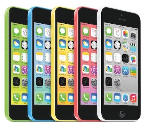 Prix réparation iPhone 5C par Alloréparation